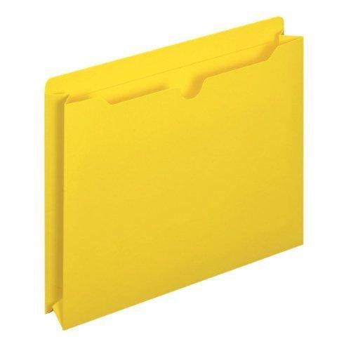 globe-weis Datei Jacken, 2Expansion, Letter-Format, gelb, 50Stück (B3043DTYEL) von Globe Weis