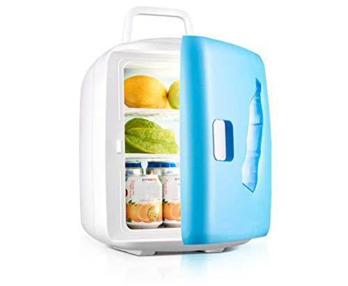 WBJLG Refrigerador para automóvil de Doble núcleo de 15L / refrigerador portátil/Doble Uso para el hogar y el automóvil (220V / 12V), refrigerador para dormitorios de Estudiantes, Viajes/Picnic