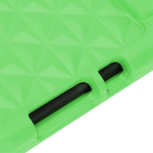 Tableta de Gel de sílice Suave Apta para niños para Oficina en casa(Verde)