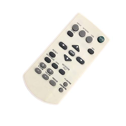 Replacement Remote Control for AC/TV/AV Remote Control for Sony PL-FW65 VPL-PHZ10 VPL-HW40ES VPL-HW55ES-B VPL-VW1100ES VPL-VW1100 VPL-PWZ10 VPL-VZ1000ES LCD Projector