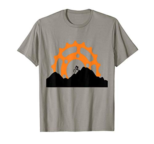 MTB Downhill Sunrise Mountain Bike T-Shirt