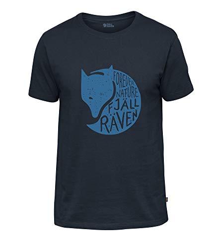 FJALLRAVEN Forever Nature M T-Shirt pour Homme XXL Bleu Marine