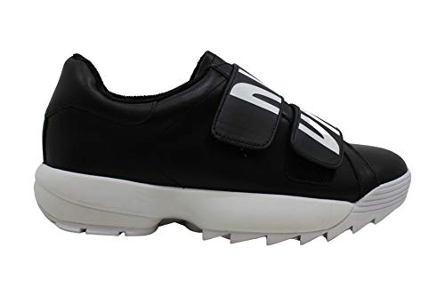 DKNY Damen Dessa Slip On Joggingschuhe Sneaker Schwarz 37 EU