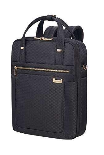 SAMSONITE Uplite - Three-Way Laptop Expandable Rucksack, 40 cm, 18 Liter, Black/Gold