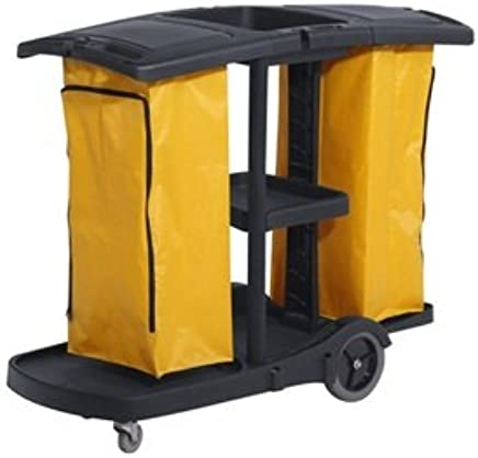 Superb Commercial Housekeeping Janitorial Service Cart With 2 Download Free Architecture Designs Scobabritishbridgeorg