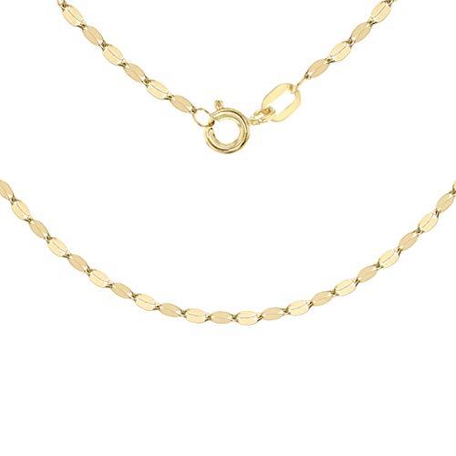 Carissima Gold Collana da Donna, in Oro Giallo 9K (375), 46 cm