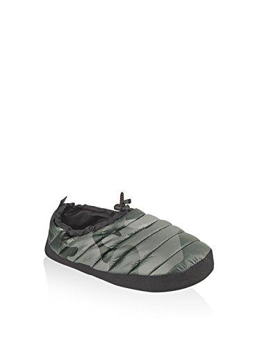 Brekka Calzatura da Casa Holiday Verde Camouflage EU 37/38 (S)