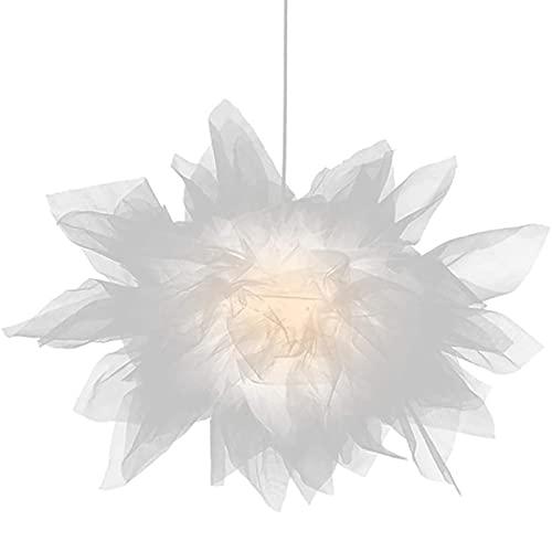 WOERD Lámpara Colgante LED Moderno, Lámpara de Techo de Hierro, Regulable Lámpara Colgante Iluminación De Araña, Sala de Estar Restaurante Dormitorio (con 5W Bombilla Led)