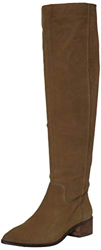 Lucky Brand Women's LK-KITRIE Fashion Boot, Military gre, 7 M US