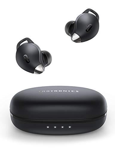 TaoTronics - Auricolari Bluetooth 5.0 SoundLiberty 79, con microfono, AI Noise Cancelling, per chiamate impeccabili, 30 ore di riproduzione, impermeabilità IPX7, custodia di ricarica rapida tipo C