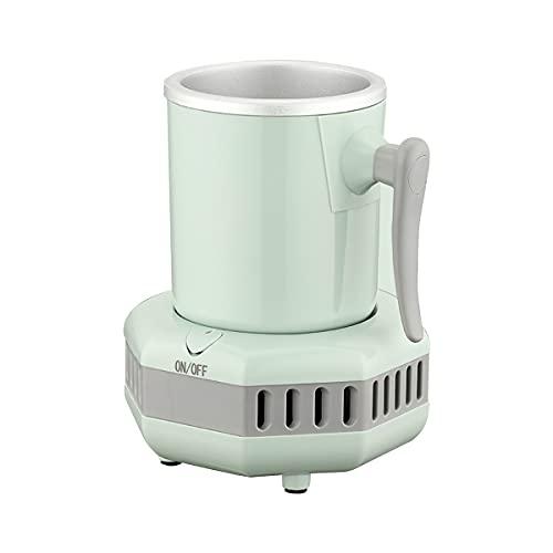 Mini enfriador electrónico portátil de botella rápida, taza de enfriamiento instantáneo para té helado, vino, licores, alcohol, café, enfriador de jugo (codicia)