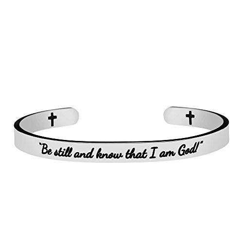 Best engraved bible verse bracelets for 2021