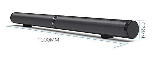 BBOPG Bluetooth détachable Soundbar 50W sans Fil stéréo Subwoofer Haut-Parleur TV Home Cinéma TF FM USB Virtual Surround Barre de Son