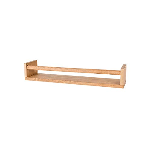 GY Houten Muur Frame 3-delige set, Beeld Ledge Zwevende plank, Open haard Mantel Woonkamer, Slaapkamer Muur Boekenplank, Hout Kleur, 50 * 11 * 8,5 cm