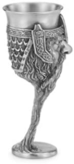 Royal Selangor Hand Finished Sculptors Dream-LORD OF THE RINGS Collection Pewter GIMLI Goblet