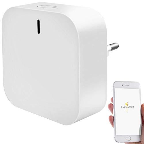 Luminea Home Control Smarthome Controller: WLAN-Gateway mit Bluetooth-Mesh für Smart-Home-Geräte mit ELESION (Internet-Gateway Smart Home)