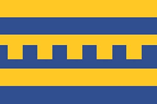 U24 Vaandel vlag Harderwijk (Nederland) bootvlag premium kwaliteit 20 x 30 cm