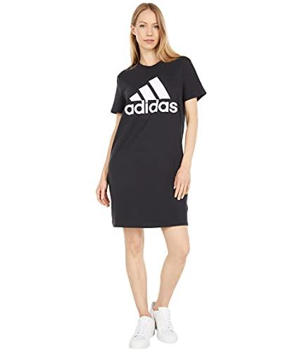 adidas,Womens,BL Single Jersey Dress,Black/White,Small