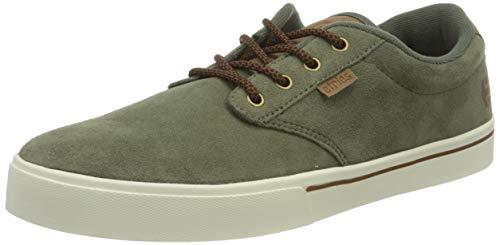 Etnies Jameson 2, Zapatos de Skate Hombre, Aceituna, 45 EU
