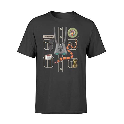 Vinsaco Zookeeper - Camiseta de Halloween para disfraz