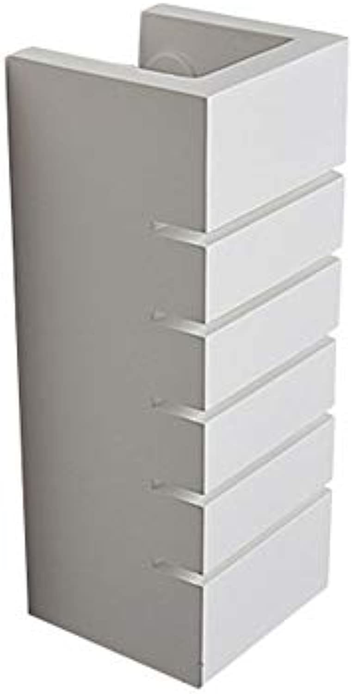 LED rechteckige wandleuchte wohnzimmer schlafzimmer nachtwandleuchte moderne minimalistische aluminiumputzleuchte