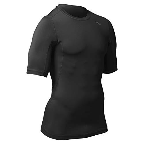 CHAMPRO Compression Half Sleeve Shirt, Youth Large, Black