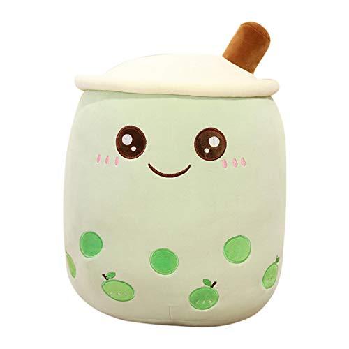 Milch Tee Tasse Kissen,Milchtee Tasse Plüschtier Für Geburtstags-Geschenk Schlafzimmer Wohnzimmer