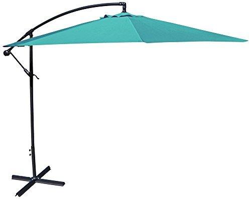 10' Offset Umbrella in Aruba -