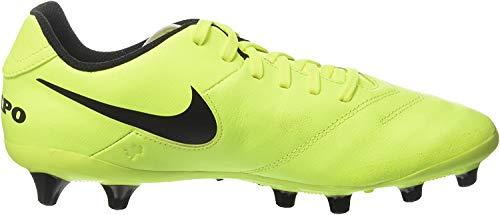 Nike Tiempo Genio Ii Leather Ag-Pro, Scarpe da Calcio Uomo, Giallo (Vert Volt/black-vert Volt), 42.5 EU