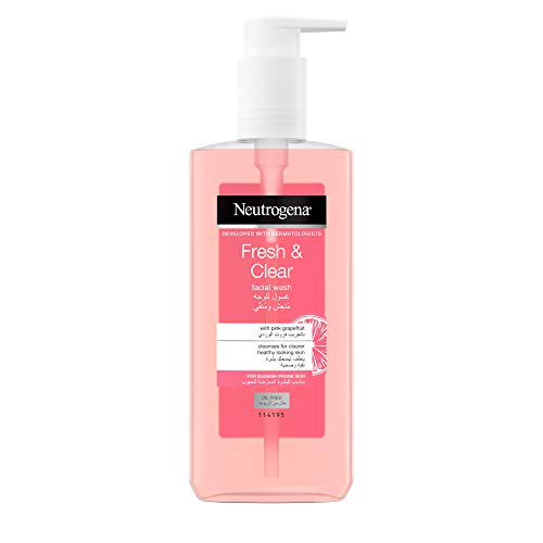 Neutrogena Visibly Pink Grapefruit Facial Wash - (200ml)