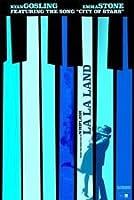 ラ・ラ・ランド La La Land シルク調生地 ファブリック アート キャンバス ポスター 約60×90cm ライアン・ゴズリング エマ・ストーン [並行輸入品]