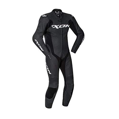 Ixon Falcon negro blanco traje moto, XL