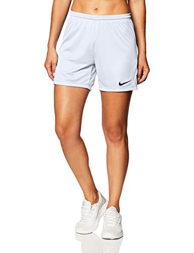 Nike Park 3 Shorts Femme, Blanc/Noir, XS