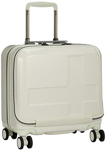 [イノベーター] スーツケース ミニマルビジネスサイズ フロントオープン ブレーキングシステム INV36 保証付 33L 36.5 cm 3.4kg ミラーアイボリー