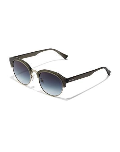 HAWKERS Classic Rounded Gafas, Negro, One Size Unisex