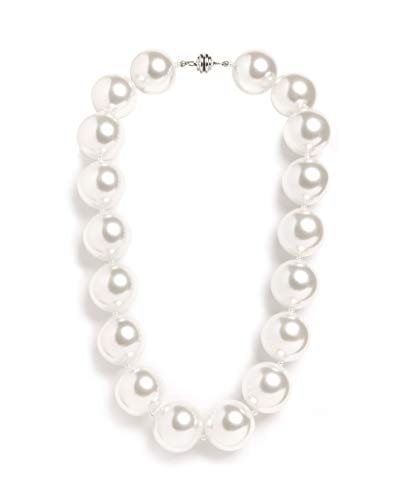 Hot Girls Pearls Ivory White 18' Cooling Necklace | Stylish Way to Stay Cool While Looking Hot | Free Insulated Travel Pouch Included with Every Item