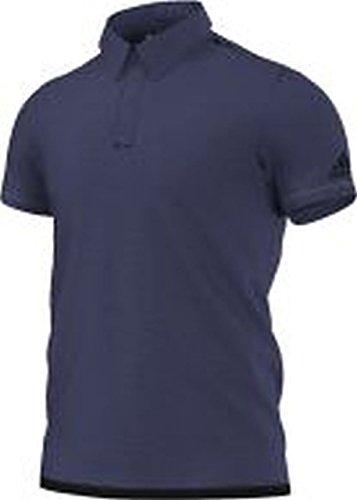 Adidas Climachill uncontrol Polo pour Homme M Bleu - Bleu/Noir