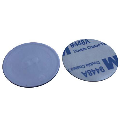 8 x NFC Aufkleber RFID anti-metal auf Metall Tag Label MIFARE Classic® 1K 13,56MHz Dia 25mm