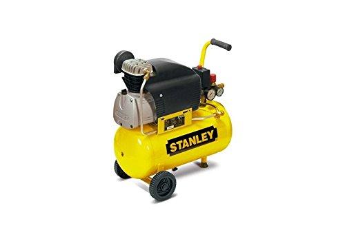 STANLEY Compressore aria ad olio capacità di 24 litri - 1500 Watt.
