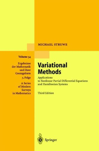 Variational Methods: Applications to Nonlinear Partial Differential Equations and Hamiltonian Systems (Ergebnisse der Mathematik und ihrer Grenzgebiete. ... in Mathematics Book 34) (English Edition)