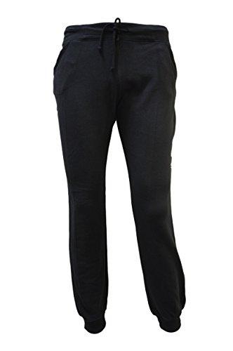 Calvin Klein Damen Evolve Baumwolle Trainingshose. (Large, Schwarz)