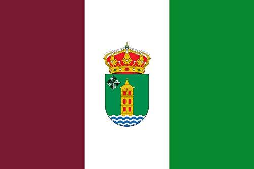 magFlags Bandera Large Municipio de Cabanillas del Campo Castilla-La Mancha | Bandera Paisaje | 1.35m² | 90x150cm