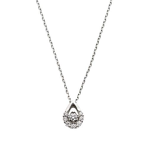 [ヴァンドーム青山] プラチナ ネックレス APVN181340DI ベーシック ダイヤモンドネックレス