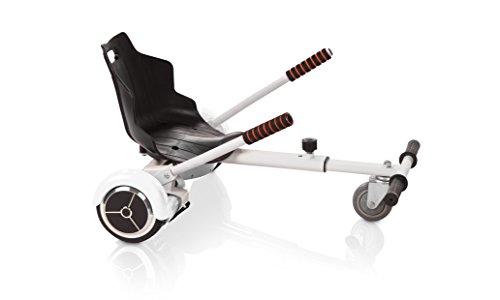 Hover Kart Zubehör für Ihren Roller, Elektro Hoverboard, WEISS
