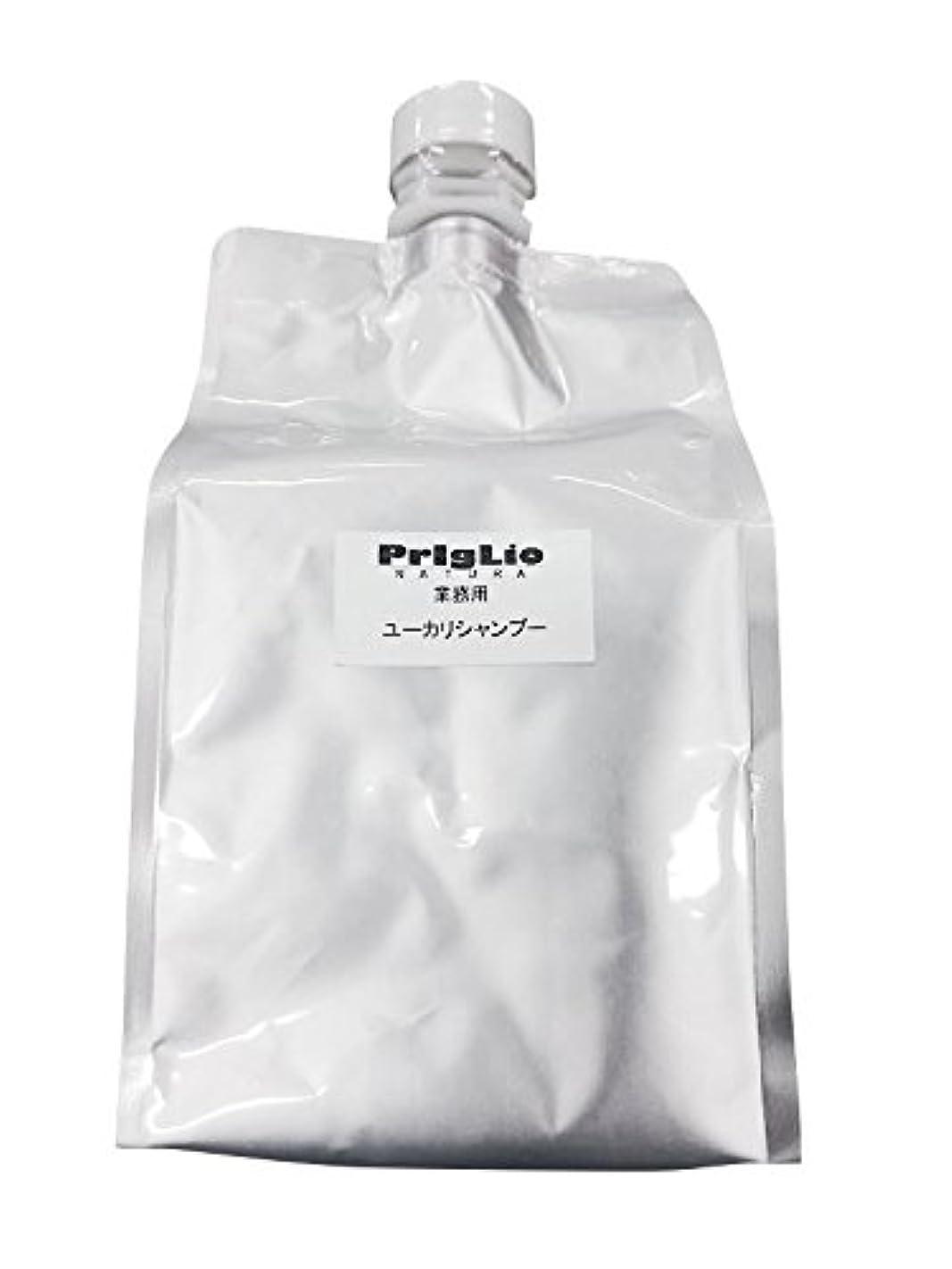 ボトル幾何学カバーPrigLio(プリグリオ) C ユーカリシャンプー レフィル 900ml
