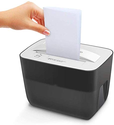 New Office Supplies 3 Shredder Cross Cutting Capacity 4.5L247162 187mm Black Small for Office 5 Secu...