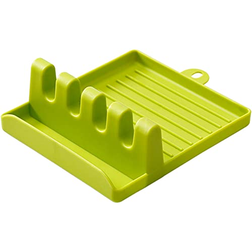 Soporte de cuchara para soporte de cuchara para encimera de cocina, soporte de cuchara para estufa superior de cuchara para estufa, utensilios de cocina, para encimera de cocina o estufa