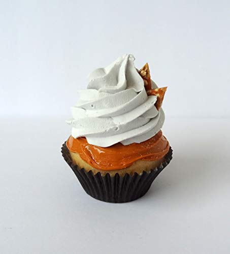 Fake Cupcake Caramel Brittle Butterscotch Toffee Faux Food Prop
