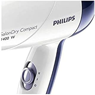 Philips HP8103 Salon Dry Compact Hair Dryer, White