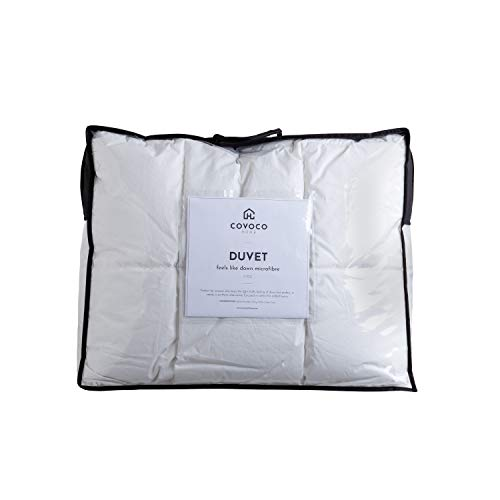 Covoco Home Feels Like Down Synthetic Duvet - Spring/Autumn 9 Tog - King
